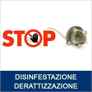 Disinfestazioni Derattizzazioni locali