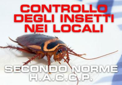 Monitoraggio infestanti nei locali